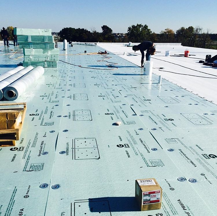 TPO Roofing Project