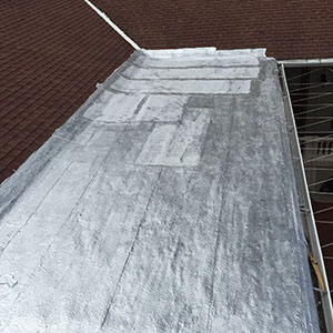 Aluminum Coating Roofing Project