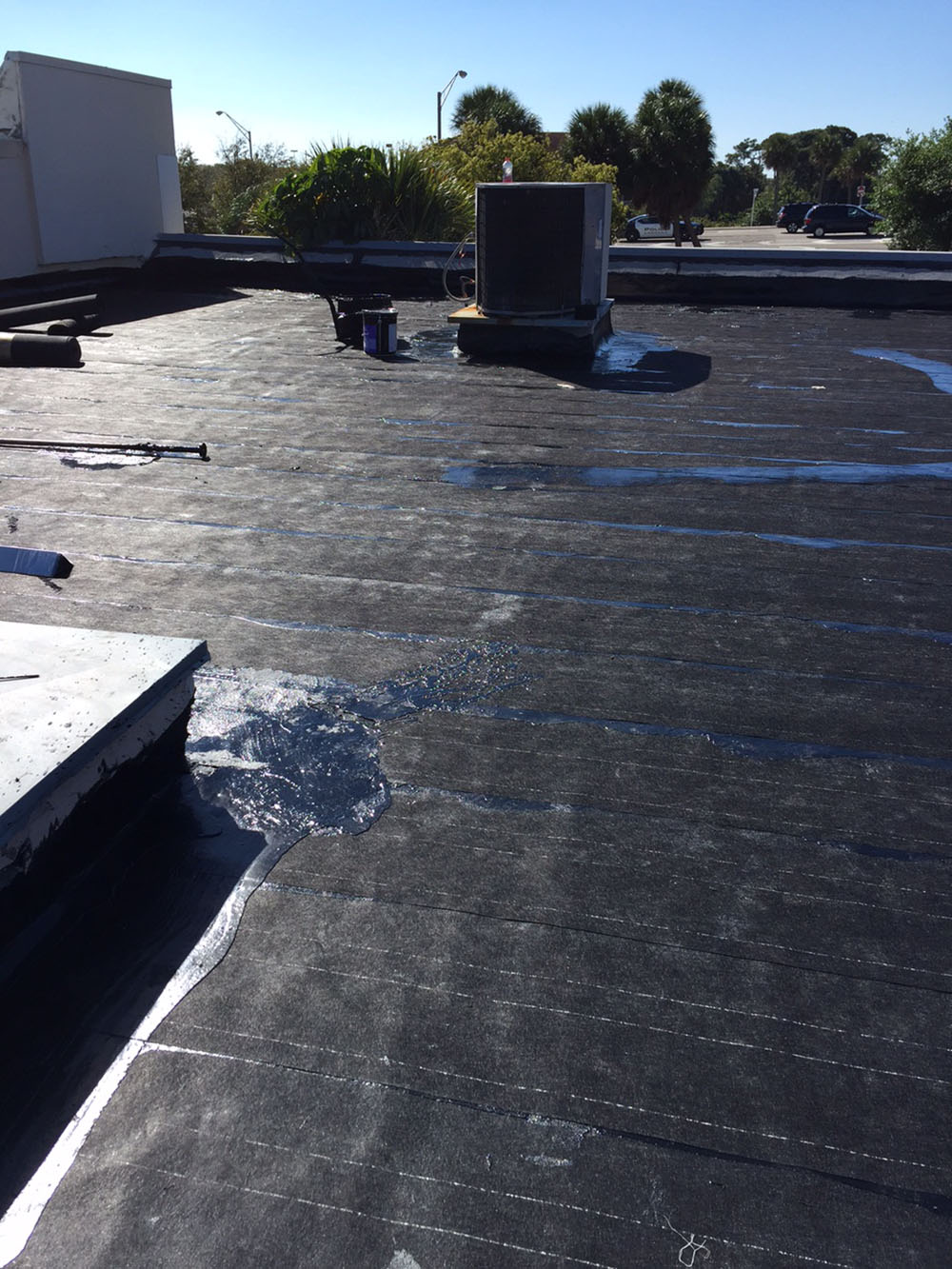 Cabot House Project - Roof Replacement With Hot Tar