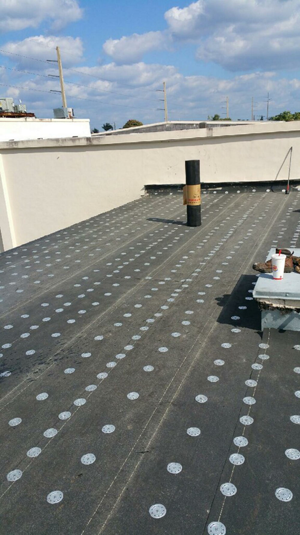 Cabot House Project   Roof Replacement With Hot Tar ...